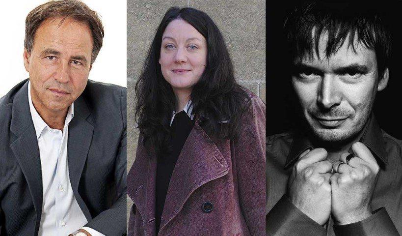 Anthony Horowitz, Helen MacDonald, Ian Rankin