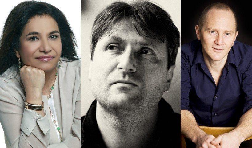 Maha Gargash, Simon Armitage, Chris Cleave