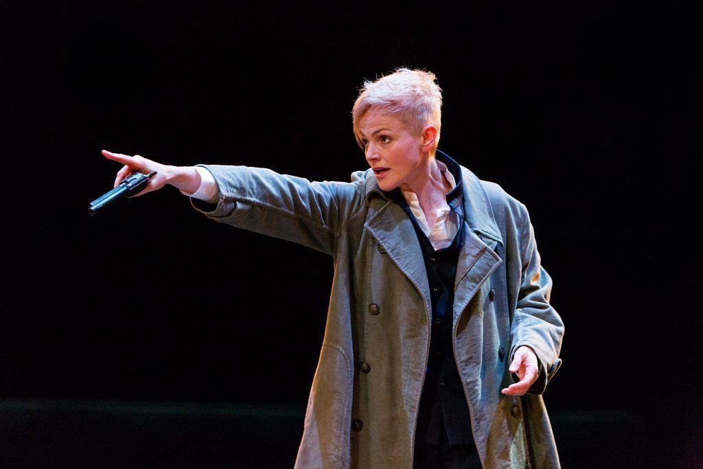 Maxine Peake as Hamlet in HAMLET (Royal Exchange Theatre. Photo - Jonathan Keenan