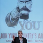 Jeremy Paxman at the Emirates Airline Festival of Literature