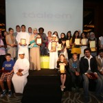 Taleem Poetry Award winners at the 6th Emirates Airline Festival of Literature 1